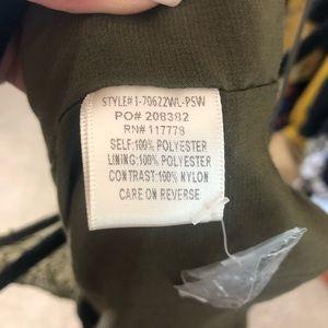 Love Stitch Dresses - Green Lacy Maxi Dress